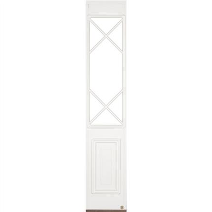 Leksandsdörren sidoljus Klockarberg för pardörr