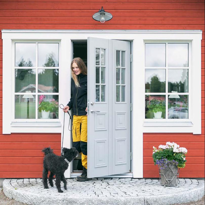 Leksandsdörren ytterdörr Tradition, Granberg