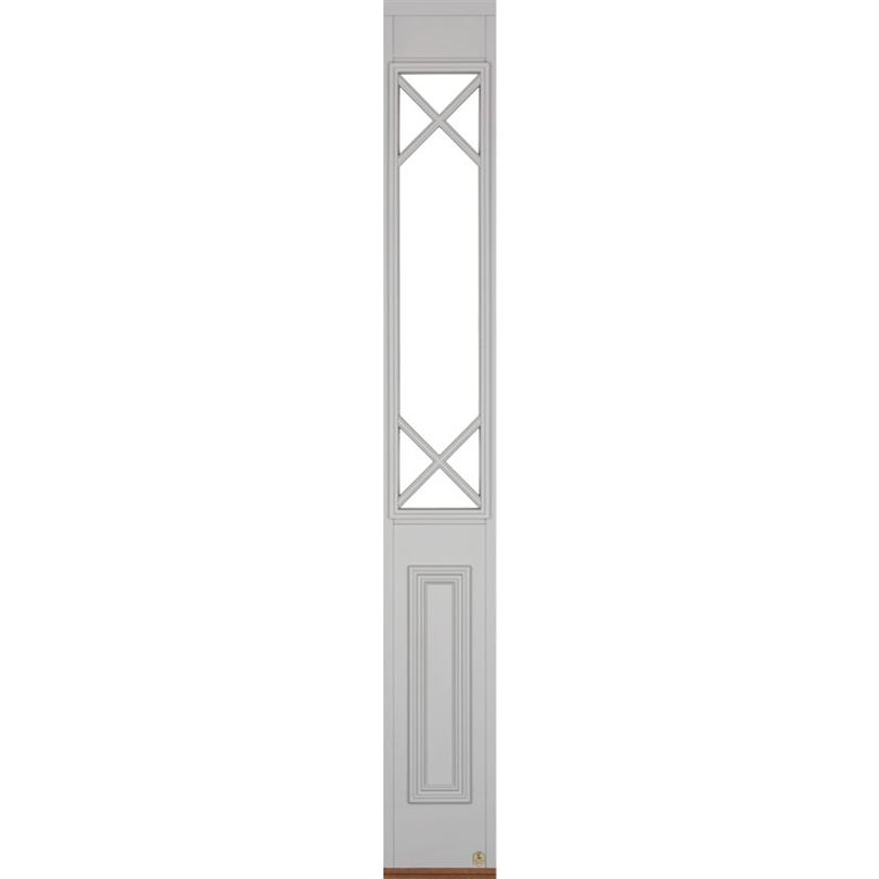 Leksandsdörren sidoljus Klockarberg för enkeldörr