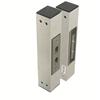 Elektromagnetiskt säkerhetslås, multispänning, infällt montage, dörrmagnet, hög magnethållkraften