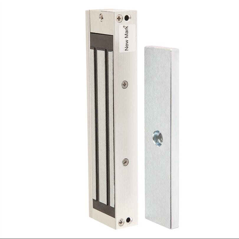 Kompakt elektomagnetisk skåpmagnet, mikro lås, kompakt utförande, infällt montage, omställbar
