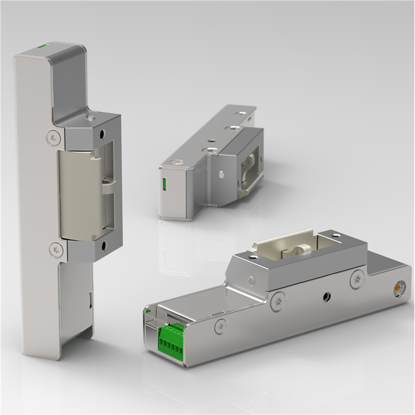 standard elslutbleck, listtrycksteknik, daglåsning, multifunktions elslutbleck