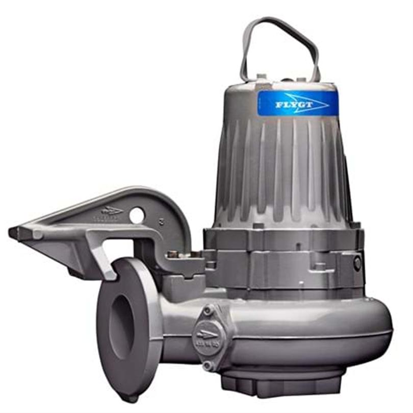 Dränkbara pumpar, självrensande hjul, avloppspumpar, i olikautföranden
