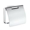 Smedbo AIR badrumsserie- Toalettpappershållare med lock