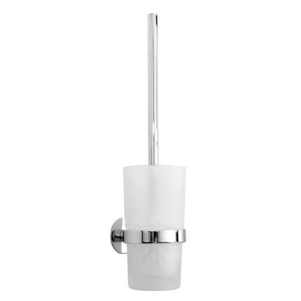 YK333. WC-borste inkl frostat glas