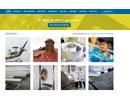 Rostfria produkter till industrin på webbplats