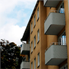 Ekonomistål Klassisk balkongplåt, Sundbyberg