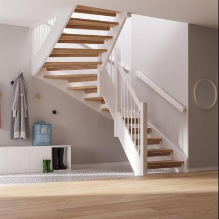 Drömtrappor, invändiga trappor av trä