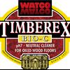 Timberex Bio-C rengöringsmedel, logo