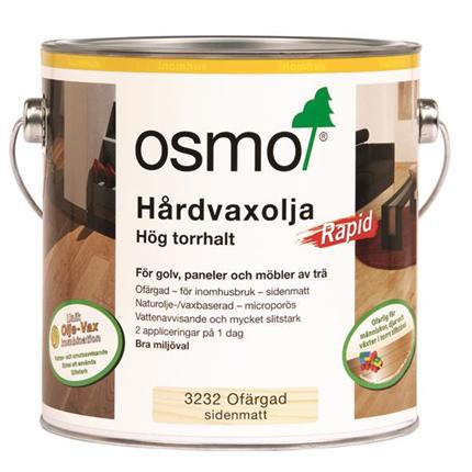 Osmo Hårdvaxolja Rapid