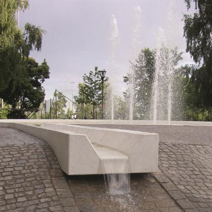 Herrljunga terrazzo fontän