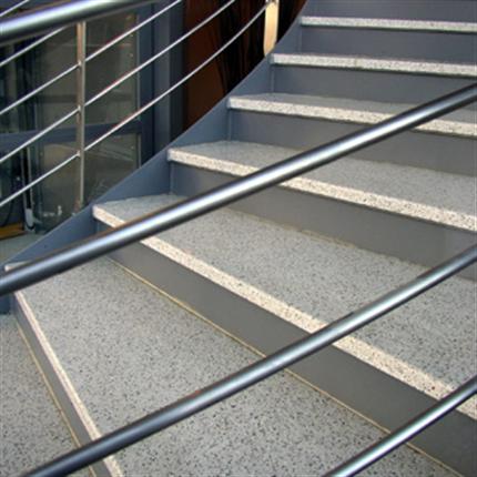 Herrljunga trappbeklädnad av terrazzo