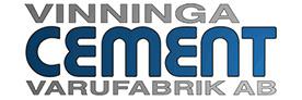 Vinninga Cementvarufabrik logo