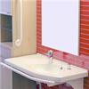 Trident Badrumstillbehör, Tvättställ med stödräcke