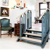 Trident FlexStep lyftplattform, 3-steg i bostad