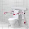 Trident Utrustning för toaletter, Höjd- och sidjusterbara