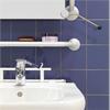 Trident Utrustning för tvättställ, Stång och spegel som kan tiltas