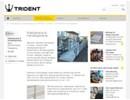Trident Miniramp på webbplats