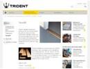 Trident Täckplåt på webbplats