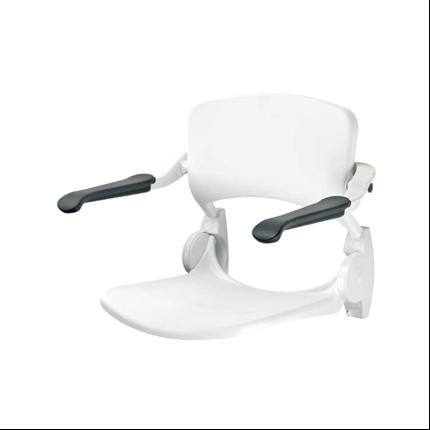Trident Utrustning för duschar, Duschsits med rygg- och armstöd