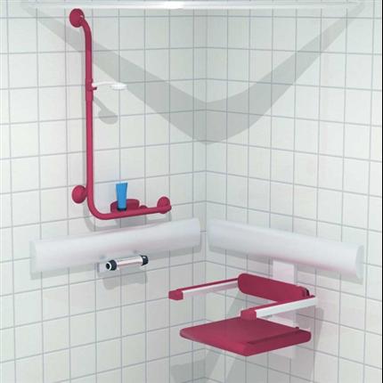 Trident Utrustning för duschar, med duschsits samt Linido handtag