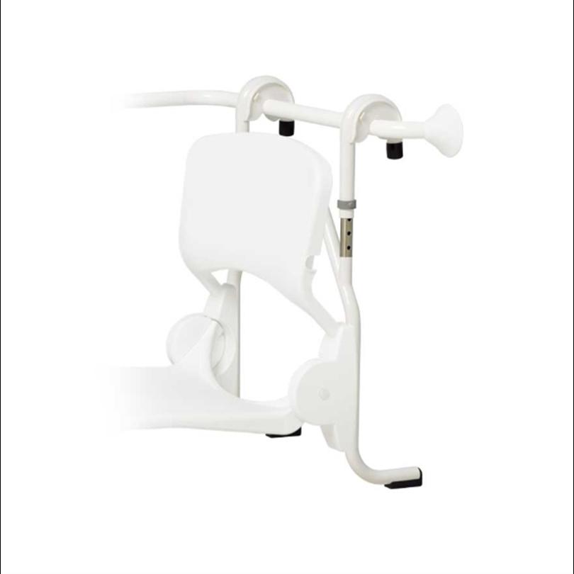 Trident Utrustning för duschar, Click-on-monteringsram med höjdjustering