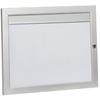 Våningsregister  2x1 i aluminium