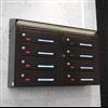 Svenskboxen Liggande med snedtak och LED-belysning