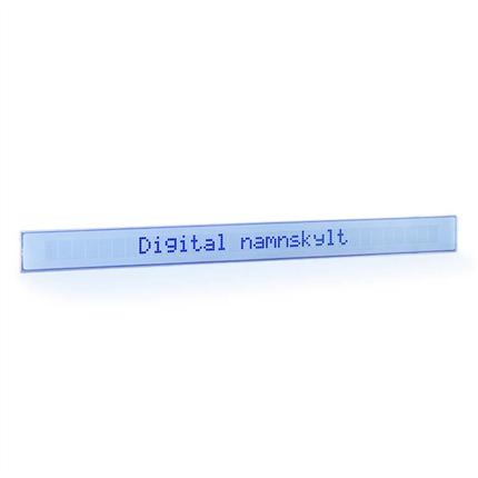 Digital namnskylt