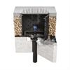 Geberit Pluvia takavlopp på belastningsbart betongtak med bitumenfolie