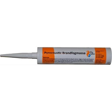 Pyrocoustic Brandfogmassa / Pyrolastic Brandsilikon