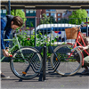 Cyklos DELTA cykelställ med ramlåsning