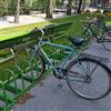 Cyklos ZETA mobilt cykelställ, pulverlackerat, Örebro
