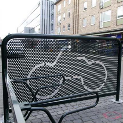 Cyklos DELTA cykelhage, gavel