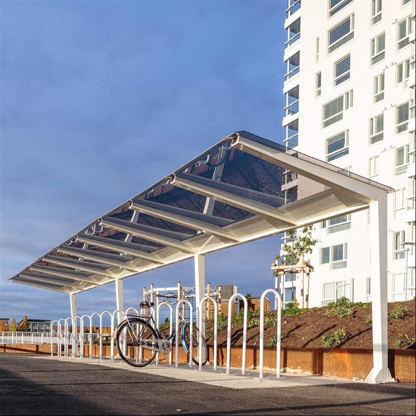Cyklos LIGHT väderskydd