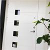 Säker Bostad Delta säkerhetsdörr, ytterdörr med glasning