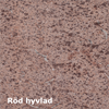 Dala Sten fasadplattor, Jämtland röd hyvlad
