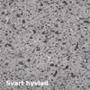 Dala Sten fasadplattor, Jämtland svart hyvlad