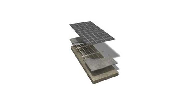 Lågbyggande golvvärmesystem för renovering