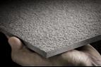 Vackert fasadmaterial av fibercement