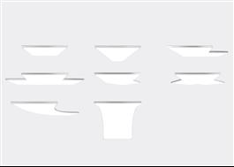 8 olika panelformer