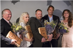 Vinnarna bakom ROT-priset 2017. Foto Tobias Sterner