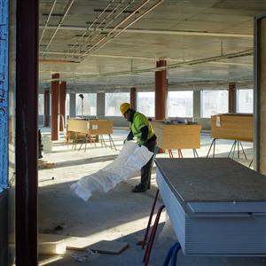 Kontorsbyggandet drivs på av låga vakanser. Foto Anders Wester