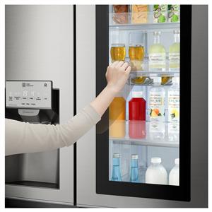 LG lanserar kylen Instaview med många finesser