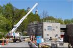 Svag ökning av husbyggnadsvolymen under första kvartalet