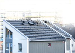 SolTech ShingEl på Myresjöhus, Vallastaden