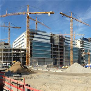 Negativ rekyl för det offentliga byggandet. Foto Harald Holm