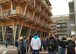 Trähus med förändringsbar konstruktion