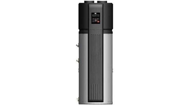 Varmvattenberedare med integrerad värmepump