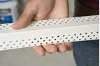 Snabbmonterat skydd ger slagtåliga hörn